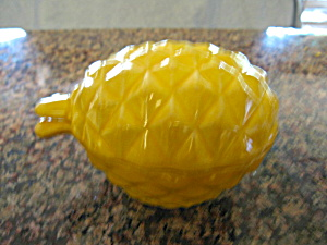 Red Wing Pineapple Sugar Bowl