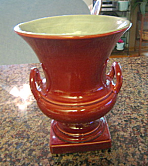 Vintage Red Wing Trophy Vase