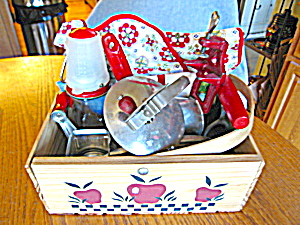 Retro Kitchenware Red