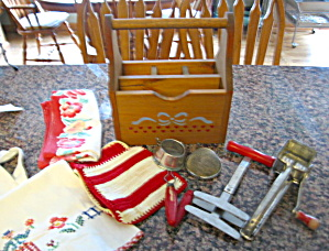Vintage Kitchen Collectibles - Red (Image1)