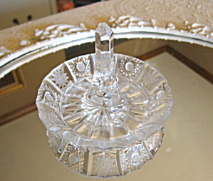 Vintage Glass Ring Holder