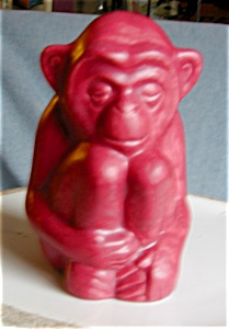 Rookwood Monkey Paperweight