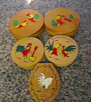 Vintage Wood Hamburger Presses (Image1)