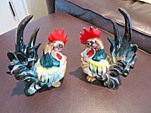 Vintage Rooster Pair (Image1)