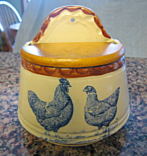 Collectible Rooster Salt Box