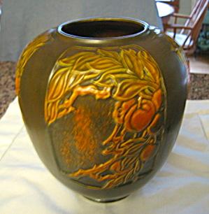 Antique Roseville Panel Vase (Image1)