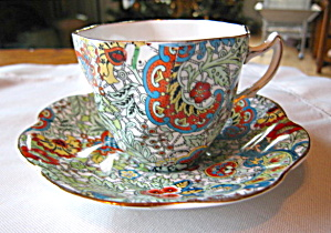 Rosina Bone China Paisley Vintage Teacup