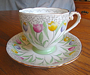 Royal Grafton Vintage Tulip Teacup