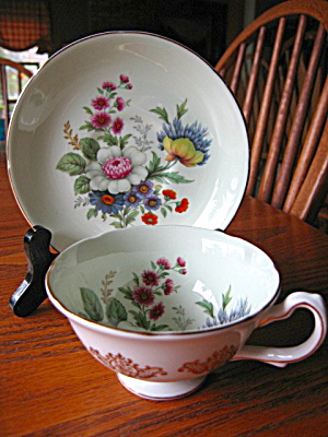 Royal Grafton Vintage Flower Teacup