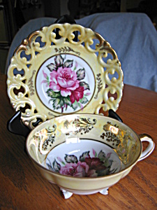 Royal Sealy Footed Cutout Teacup