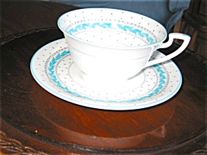 Royal Worcester Alpine Teacup