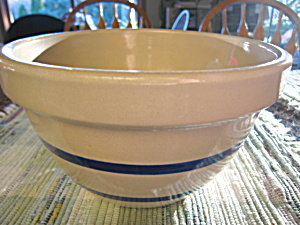 Ransbottom Blue Stripe Bowl (Image1)