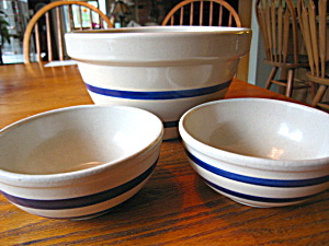 Robinson Ransbottom Bowls Blue Stripe