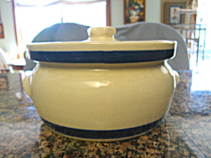Ransbottom Blue Stripe Casserole