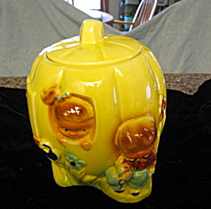 Ransbottom Pumpkin Eater Cookie Jar (Image1)
