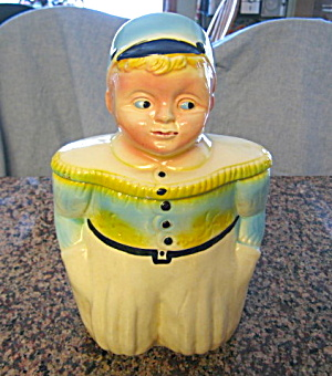 Ransbottom Dutch Boy Cookie Jar
