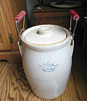 Antique Ransbottom Pickle Crock (Image1)