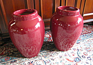 Ransbottom Floor Vase Oil Jar