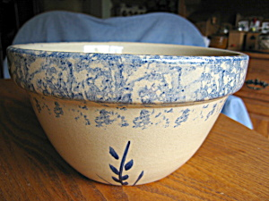 Ransbottom Spongeware Bowl Wheat (Image1)