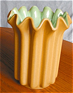 Red Wing Ribbon Vase Vintage (Image1)