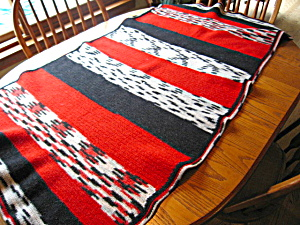 Vintage Wool Saddle Horse Blanket (Image1)