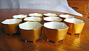 Vintage German Footed Salt Cellars