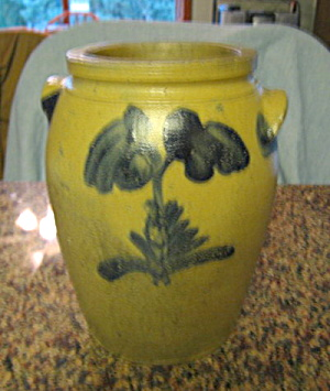 Antique Saltglaze Crock (Image1)