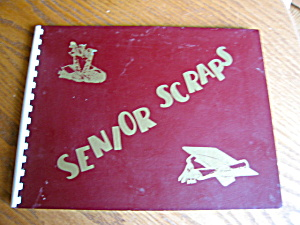 Vintage Unused Senior Scrapbook