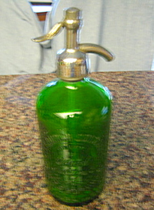 Pittsburgh Seltzer Bottle Vintage