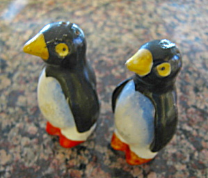 Vintage Penguin Shakers