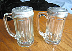 Depression Glass Range Top Shakers
