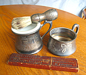 Antique Shaving Accessories