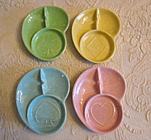 Shawnee Pottery Coaster Ashtrays