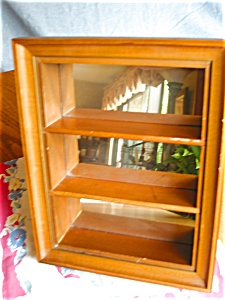 Vintage Mirrored Display Shelf (Image1)