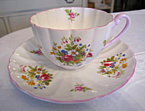Shelley Bone China Teacup Vintage
