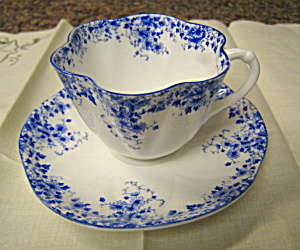 Shelley Dainty Blue Teacup