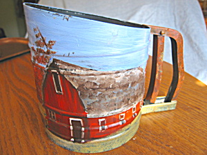 Vintage Foley Sift Chine Hand Painted Sifter (Image1)