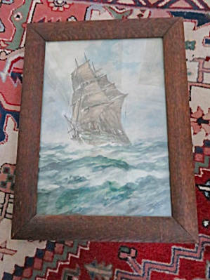 Signed Vintage Framed Art