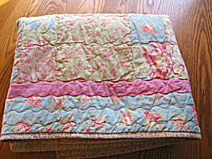 Signed Hand Stitched Quilt Throw