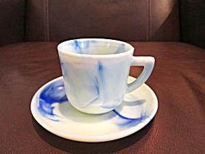 Slag Glass Teacup (Image1)