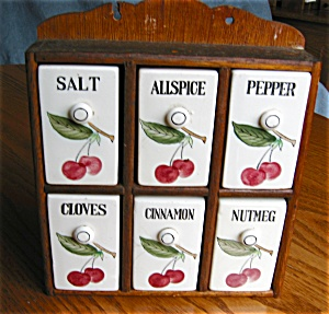 Vintage Ucago Spice Set Cherries (Image1)