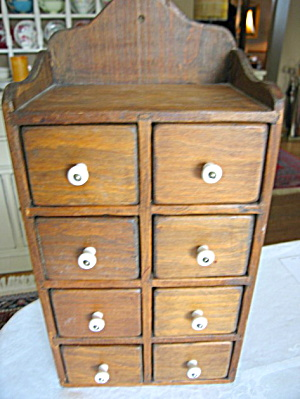 Antique Spice Cupboard