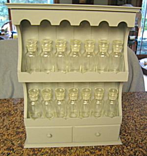 Spice Cabinet w/Jars (Image1)