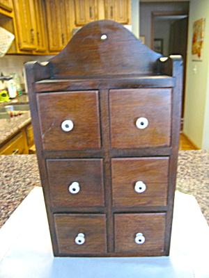 Vintage Spice Cabinet (Image1)