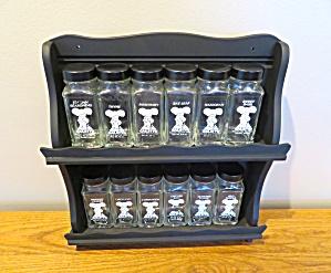 Vintage Gailstyn Spice Jars (Image1)