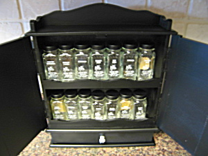 Crystal Foods Spice Jars and Rack (Image1)