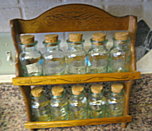 Spice Shelf and Glass Jars (Image1)