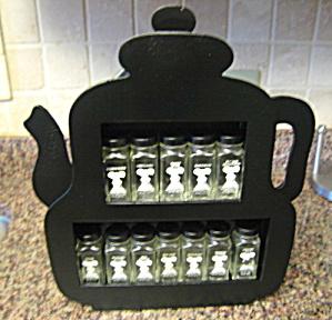 Vintage Gailstyn Spice Jars w/Rack (Image1)