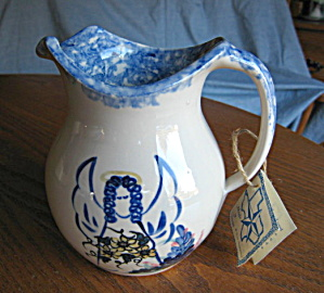 Marshall Pottery Angel Pitcher
