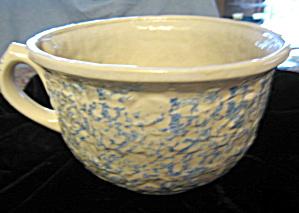 Vintage Sponged Stoneware Bowl (Image1)